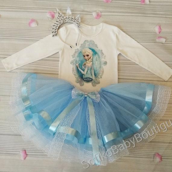 Frozen Fabric tutu outfit