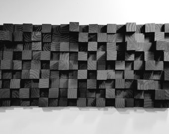 3d Wood Wall Art Etsy