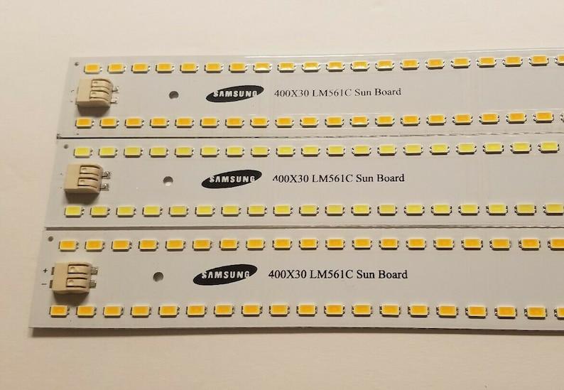 12 x Sun Board 96 Diode Samsung lm561c S6 led Strip Grow Light NOT Quantum  QB96