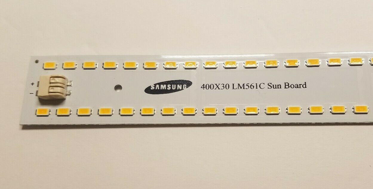 Sun Board 24v Samsung lm561c S6 led 96 diode Strip Grow Light NOT Quantum  QB96