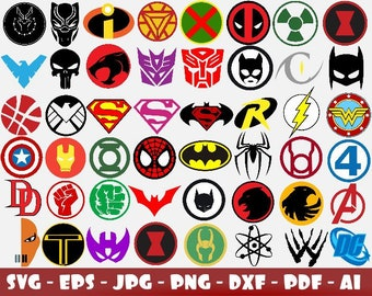 graphic about Superhero Logo Printable referred to as Ponder female sheet Etsy