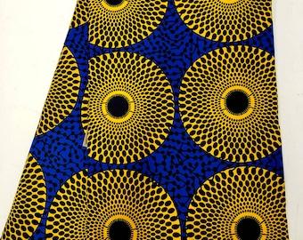 Exclusive High Quality  African  Wax Print Fabrics,Ankara Wax Print,African Wrapper Print,100/% cotton,6 yards-
