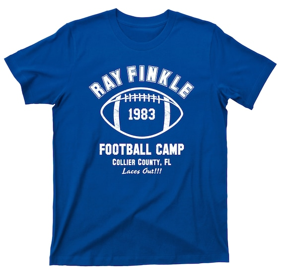 Ray Finkle Football Camp Laces Out T Shirt Ace Ventura Pet Etsy