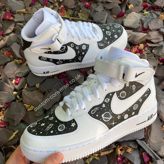 Astro Chalkboard Hand Painted Nike Air