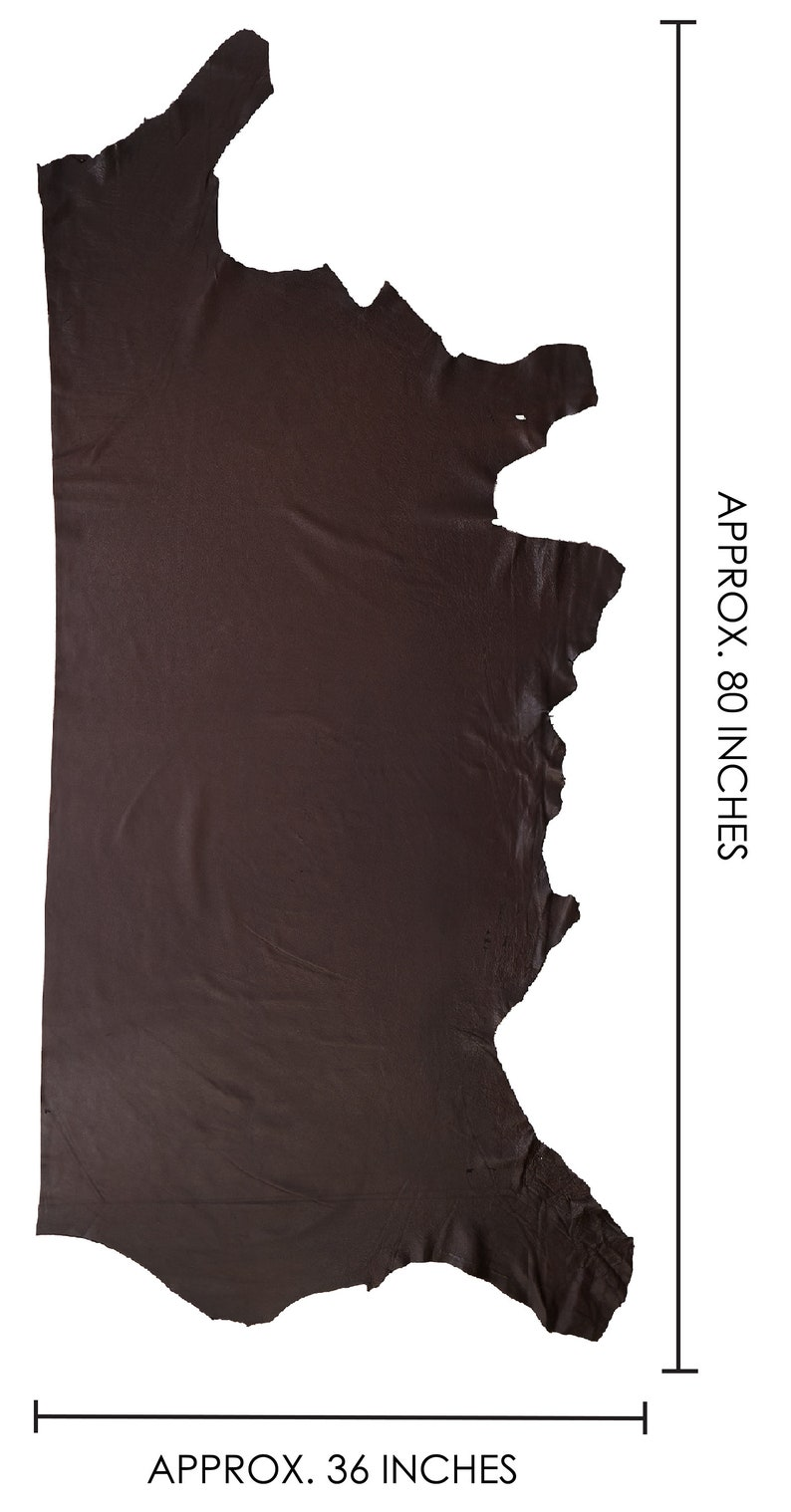 Full Aniline Soft Pebbled Cow Hide