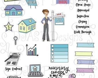 Realtor Planning Stickers