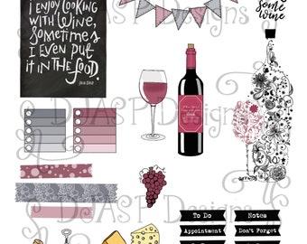 Digital planner stickers
