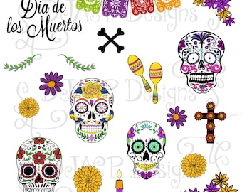 Digital Stickers, Day of the Dead
