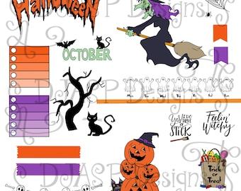 Planner Stickers October