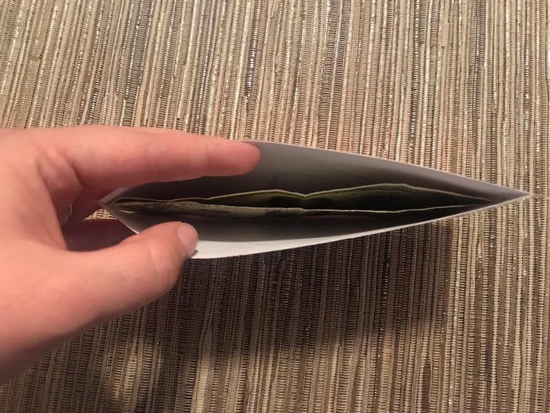 5 Laminated Cash Envelopes for Cash Envelope System
