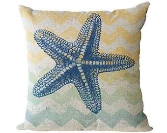Beach Theme Throw Pillow Covers