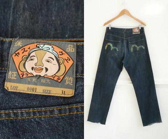 Evisu Jeans Men Medium Vintage Evisu Jeans Women L