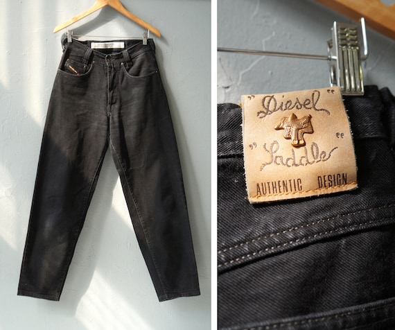 Vintage Diesel Pants Black Diesel Jeans Authentic