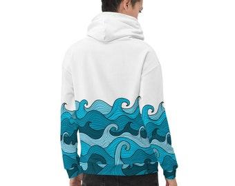 Windsurfing Gift Windsurfing Hoodie Dress For Women Windsurfing Lover Pattern-P193-P12