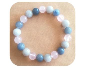 5pc Perles de Pierre Quartz Gris Boules 10mm   4558550037343