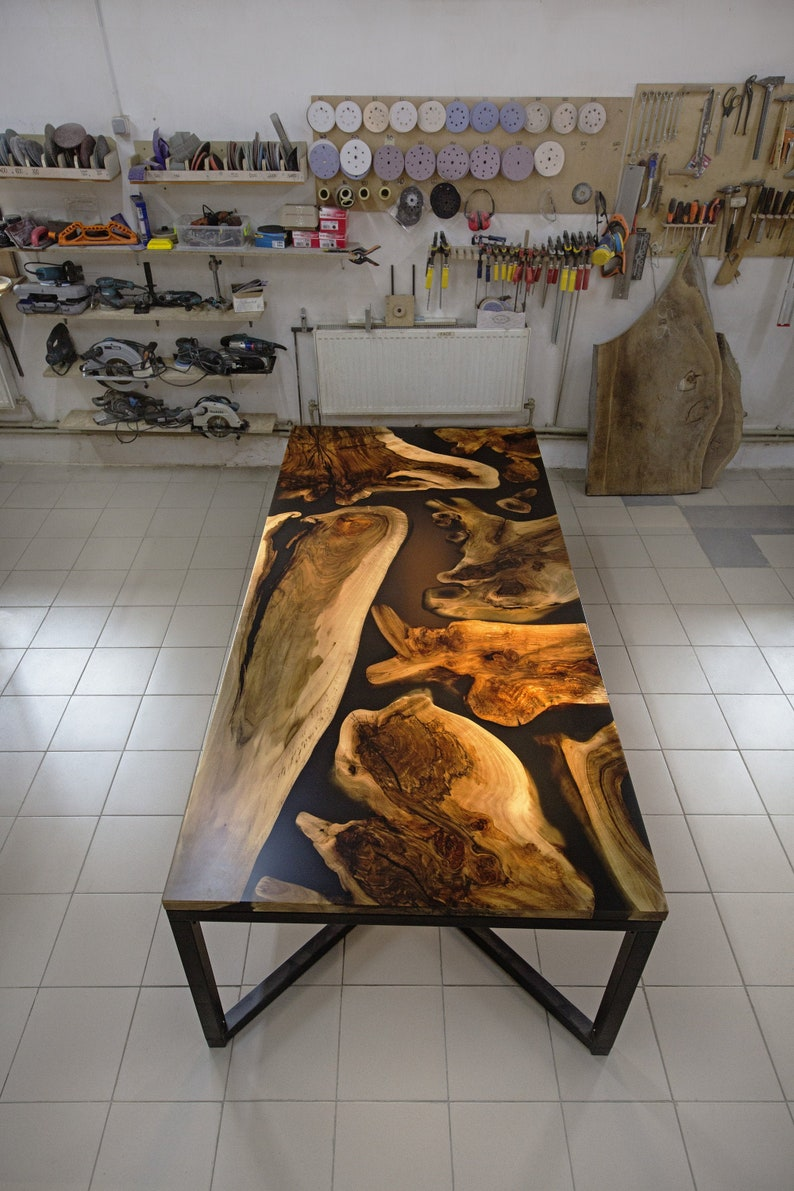 Tabletop Made With Epoxy