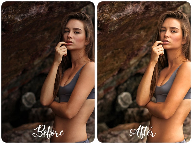 SUN TAN 6 Mobile Lightroom Presets Pack Image Editing Beach Skin Filters for Blogger Influencer Travel Lifestyle Beauty Instagram Feed