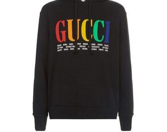b57a55895a5 Gucci Hoodie Gucci Cities High Quality Men Women Fashion Designer Lil Pump  Gucci Gang