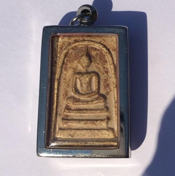 OLD PHRA SOMDEJ BEAD LP TOH THAI AMULET BUDDHA POWER MAGIC PENDANT RARE THAILAND