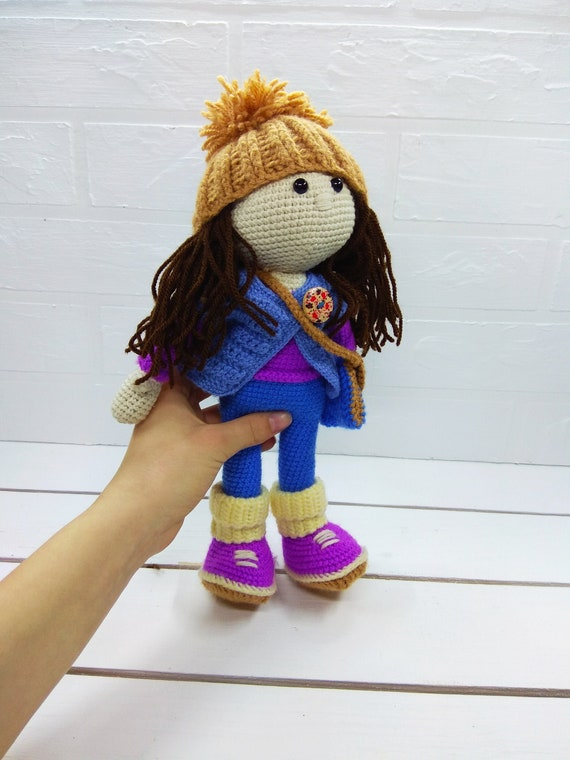 Ravelry: Suki the School Girl Amigurumi Doll pattern by Sweet Softies | 760x570