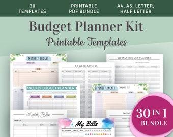 Printable Budget Planners