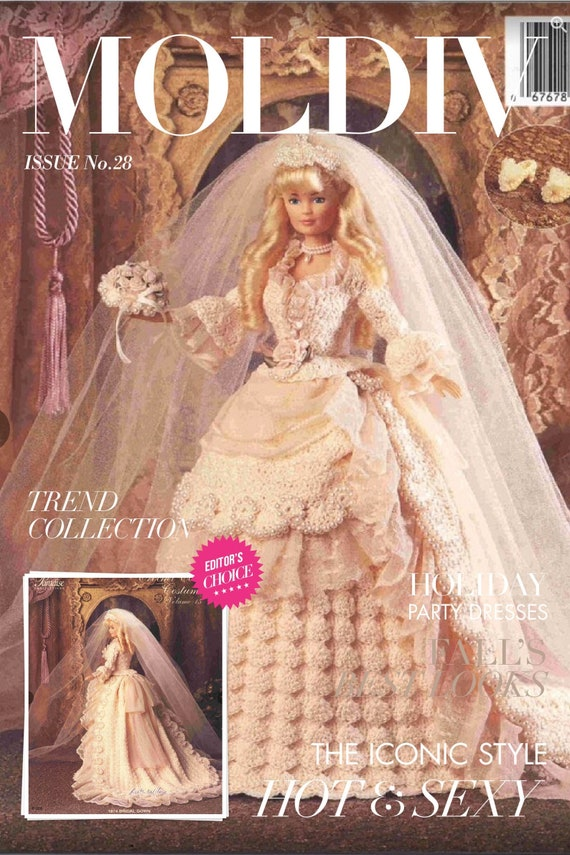 Special offer: vintage magazine 1980 28 p instruction in English PDF format tutorial making beds for Barbie doll