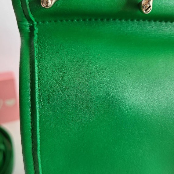 Custom Vintage Coach Green Willis Satchel - image 6