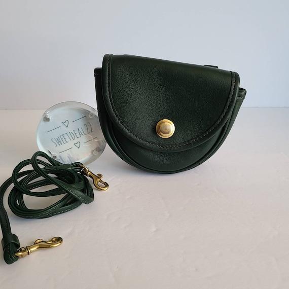 Vintage Coach Original Green Mini Belt Crossbody B
