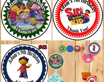 Sensational Sid The Science Kid Cake Topper Etsy Funny Birthday Cards Online Inifofree Goldxyz