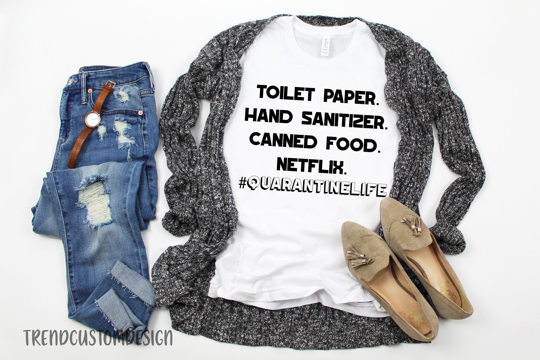 Best quarantined mom shirts from etsy - #QUARANTINELIFE T-shirt
