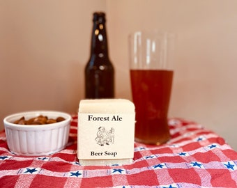 Forest Ale Beer Soap