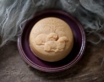 Handmade Goat's Milk and Lanolin Soap