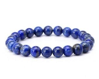 Bracelet - HARMONY - Lapis lazuli natural stones