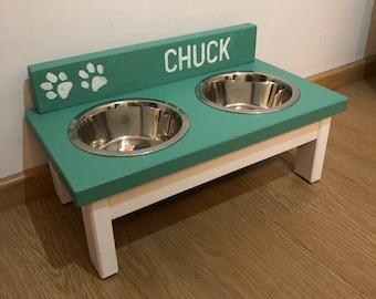 BRUNO Gr.M, feed staion mix and match, handmade, custom-made, food bowl, feeding bar, dog cup