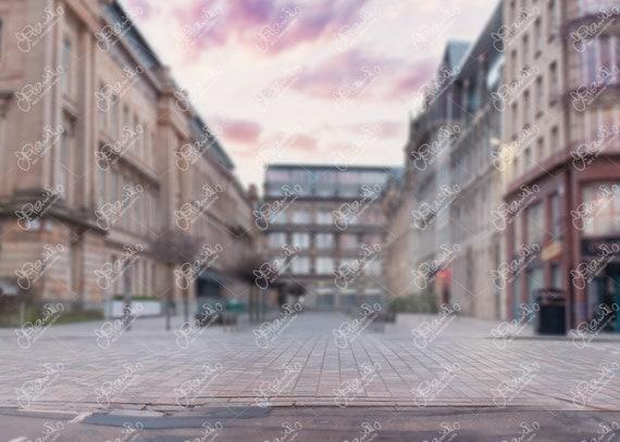 Glasgow city centre City digital background City backdrop digital background photography
