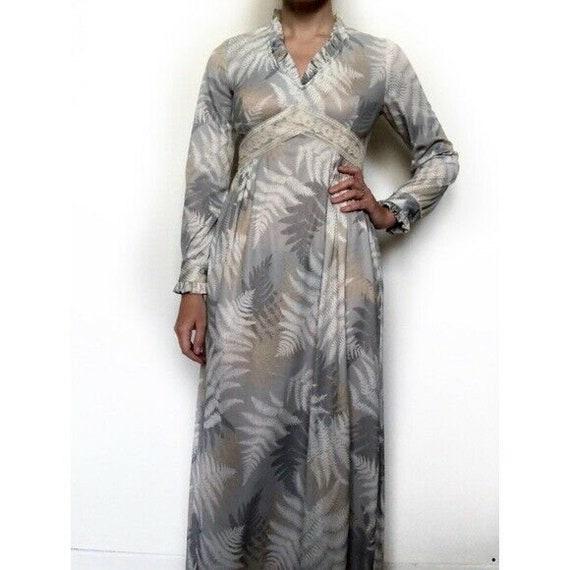 Vintage 70s Boho Peasant Dress