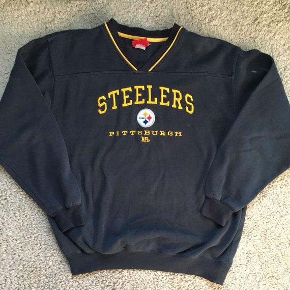 98fd8f4d Vintage NFL Pittsburgh Steelers Crewneck Sweatshirt - Unisex Adult Medium  Vintage Clothing - Unisex Clothes - Vtg - Streetwear - Retro