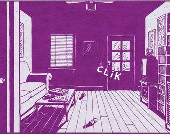 CLIK - A.D. limited-edition giclée print by Josh Neufeld