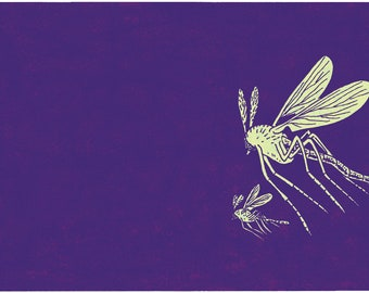 MOSQUITOES - A.D. limited-edition giclée print by Josh Neufeld