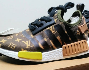 fe09d7000a3ad Custom Adidas NMD r1 V1  US6  EUR.37. Running shoes sneakers (NEW)