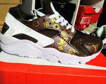 efe35c998f578 CUSTOM AIR HUARACHE Run running shoes sneakers  us9.5  us10