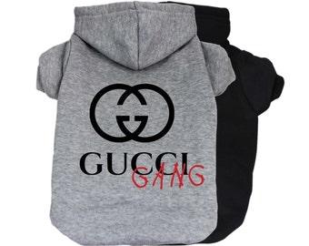 8279dec753e Gucci Gang Dog Hoodie
