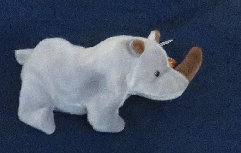 23a8de893f6 Spike the Rhino TY BEANIE BABY
