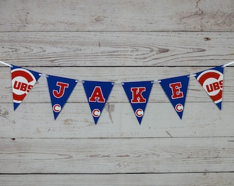 photograph relating to Printable Cubs W Flag called Cubs banner Etsy