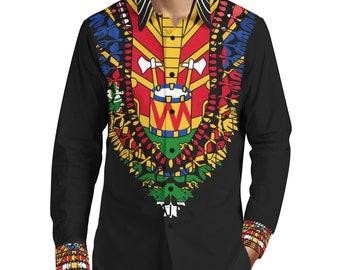 Haitian Flag Dress Etsy