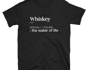 Whiskey Definition Short-Sleeve Unisex T-Shirt