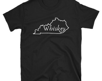 Kentucky Whiskey Short-Sleeve Unisex T-Shirt