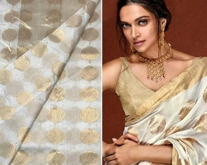 Deepika Padukone Chanderi Silk Cotton Saree | Original Deepika Exclusive Saree I Bollywood Saree I Exquisite Statement Sari!