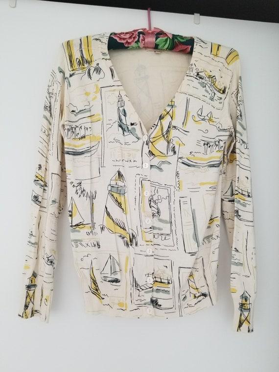 Kenzo Cardigan, Vintage cardigan, Designer cardiga