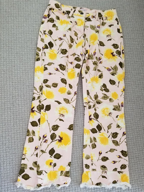 Authentic Paul Smith Floral Print Pants, Vintage P